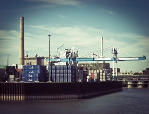 Container transport Rotterdam